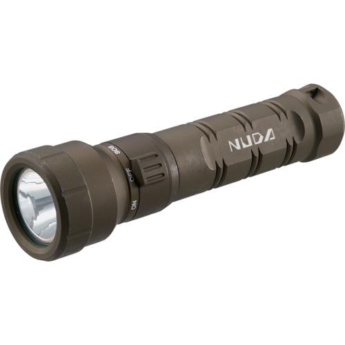 ■TRUSCO 充電式防水LEDライト NUDA 320ルーメン OD色  〔品番:TLWN-320-OD〕[TR-4719719]