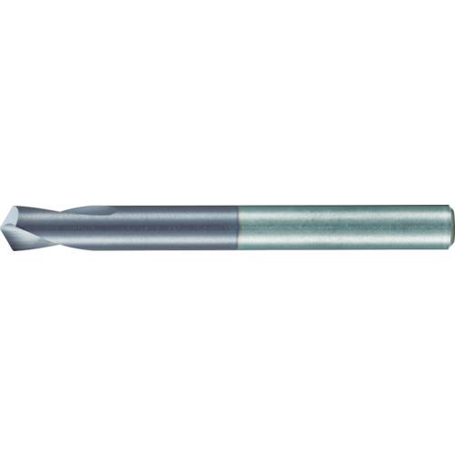 ■グーリング NCスポッティングドリルF724 シャンク径6mmセンタ穴角120°〔品番:F724〕[TR-4726669]