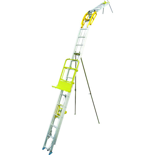 ■ハセガワ 太陽光パネル用荷揚げ機 パネルボーイ〔品番:PV-MZ4〕[TR-4754468 ]【送料別途お見積り】