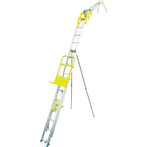 ?ハセガワ 太陽光パネル用荷揚げ機 パネルボーイ 〔品番:PV-MZ7T〕直送[TR-4754476]【大型・重量物・送料別途お見積り】
