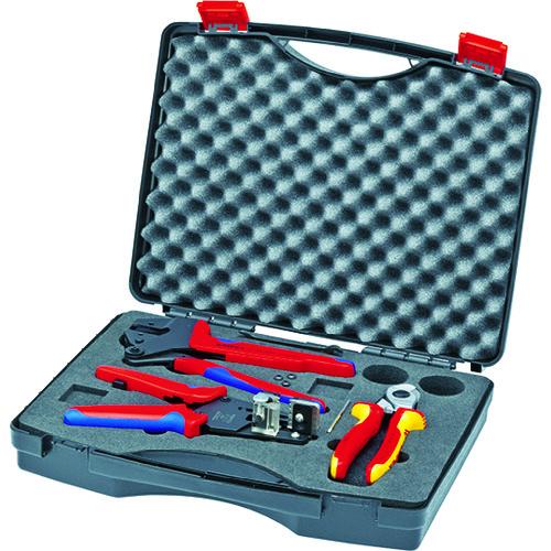 ■KNIPEX 9791-01 太陽光発電用工具セット 3点〔品番:9791-01〕[TR-4793099]