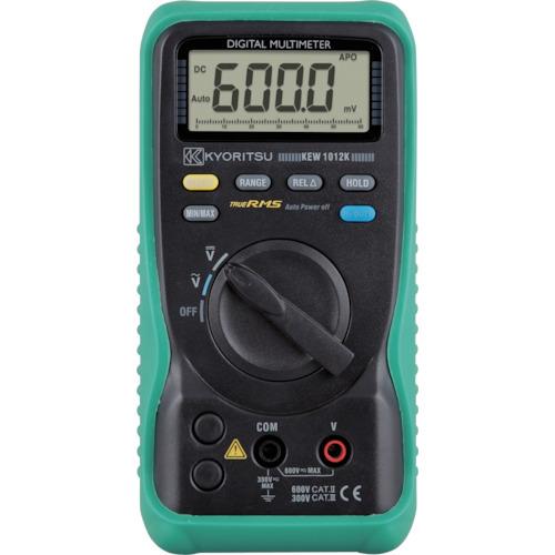■KYORITSU 1012K デジタルマルチメータ(電圧測定特化タイプ)〔品番:KEW1012K〕[TR-4796365]