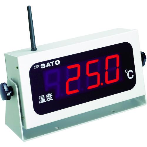 ■佐藤 コードレス温度表示器(8101-00)  〔品番:SK-M350R-T〕[TR-4797027]