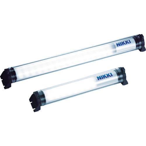 ■日機 防水型LEDリニアライトAC100~120V(2Mコードプラグ付き)  〔品番:NLM26SG-AC〕[TR-4801032]【大型・重量物・個人宅配送不可】