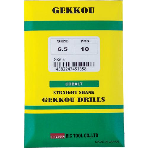 ■BIC TOOL 月光ドリル 6.8mm《10本入》〔品番:GKD6.8〕[TR-4815483×10]