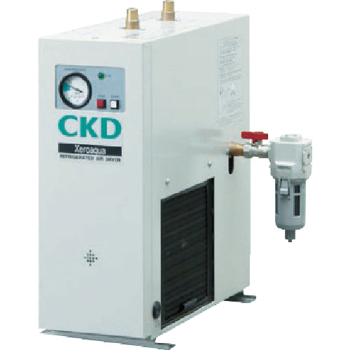 ■CKD 冷凍式ドライア ゼロアクア  〔品番:GX5204D-AC100V〕直送元[TR-4836481]【大型・重量物・個人宅配送不可】
