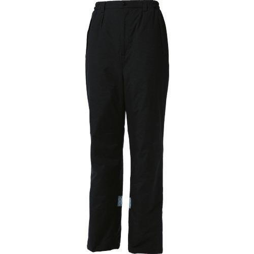 ■TRUSCO 暖かパンツ Lサイズ ブラック  〔品番:TATBP-L-BK〕[TR-4878035]