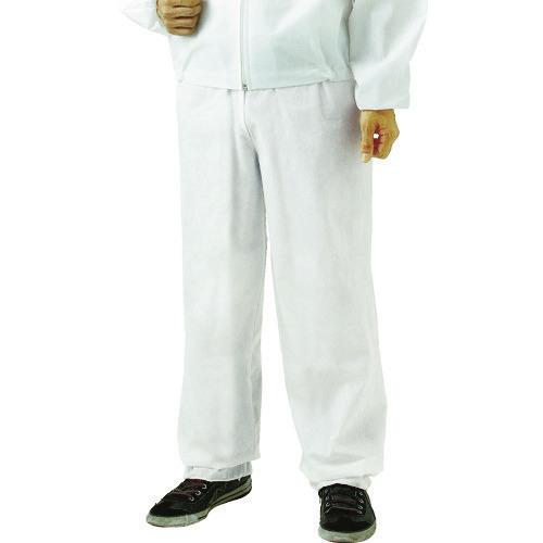 ■TRUSCO まとめ買い 不織布使い捨て保護服ズボン L (80着入)〔品番:TPC-Z-L-80〕[TR-4880242]