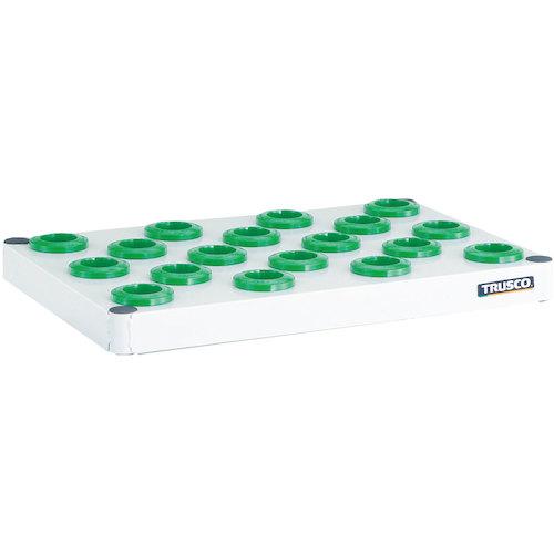 ■TRUSCO フェニックスワゴン 抗菌 棚板 750X500 BT-50 W色  〔品番:PEW-TL75A-W〕[TR-4885562]