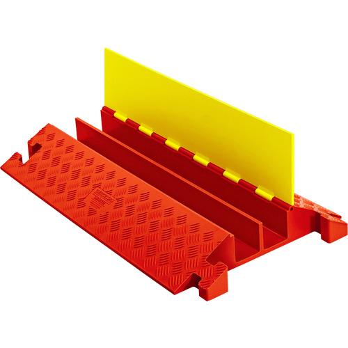 【2018?新作】 ?CHECKERS ラインバッカー ケーブルプロテクタ 重量型 電線2本〔品番:CP2X325-Y/O〕[TR-4904036]【大型・重量物・個人宅配送】:ファーストFACTORY-木材・建築資材・設備
