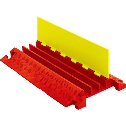 最適な価格 ?CHECKERS ラインバッカー ケーブルプロテクタ 重量型 電線3本〔品番:CP3X225-Y/O〕[TR-4904044]【大型・重量物・個人宅配送】:ファーストFACTORY-木材・建築資材・設備