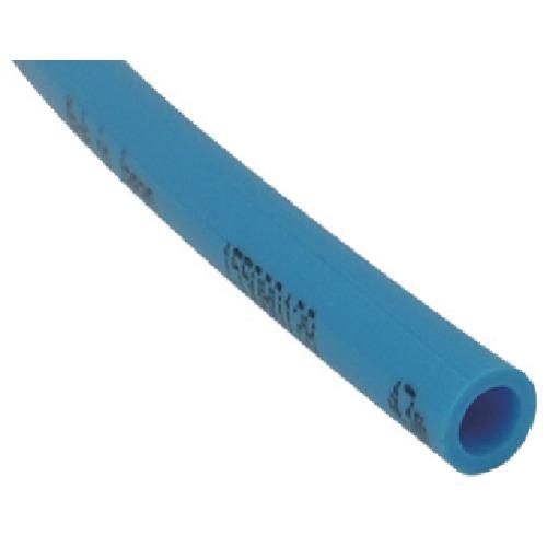■チヨダ TEタッチチューブ 12mm/100m ライトブルー〔品番:TE-12-100〕[TR-4918037]