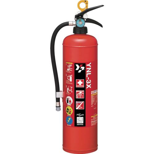 ■ヤマト 中性強化液消火器3型〔品番:YNL-3X〕[TR-4932021]