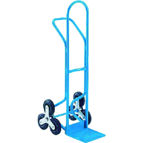 ■KAISER スチール三輪階段昇降機 200KG〔品番:155330〕[TR-4946880]【大型・重量物・個人宅配送不可】