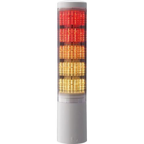 ■パトライト 積層情報表示灯  〔品番:LA65DTNWNRYGBC〕掲外取寄[TR-4964713]