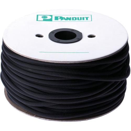 ■パンドウイット スーパーネットチューブ(ほつれ防止タイプ) 黒 外径6.4MM 60.96M  〔品番:SE25PSC-TR0〕[TR-4974018]
