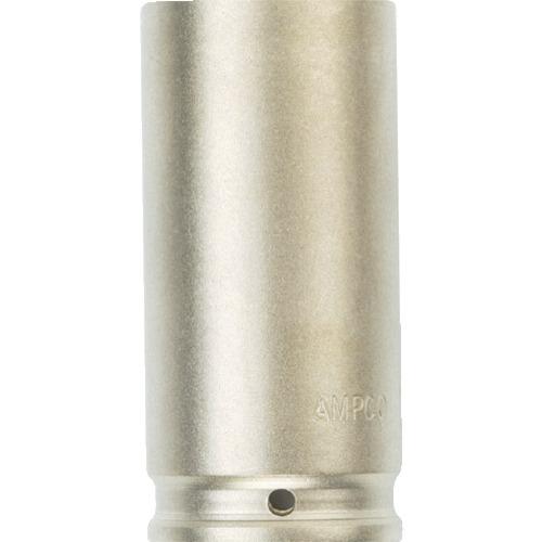 ■Ampco 防爆インパクトディープソケット 差込み12.7mm 対辺12mm〔品番:AMCDWI-1/2D12MM〕[TR-4985478]