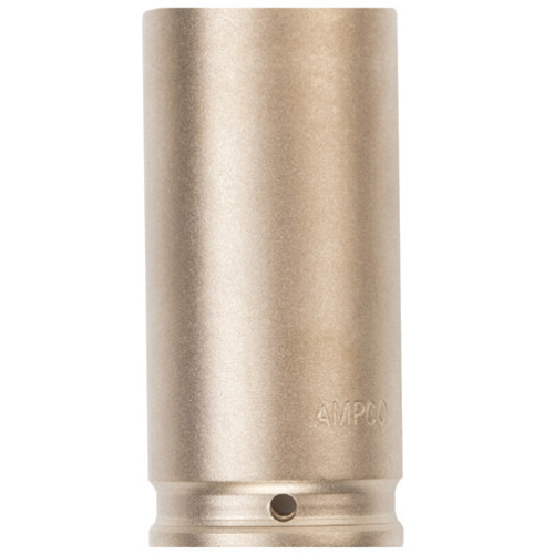 ■Ampco 防爆インパクトディープソケット 差込み12.7mm 対辺24mm〔品番:AMCDWI-1/2D24MM〕[TR-4985591]