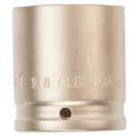 ■Ampco 防爆インパクトソケット 差込み12.7mm 対辺24mm〔品番:AMCI-1/2D24MM〕[TR-4985834]