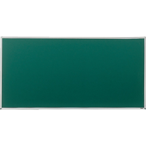 ■TRUSCO スチール製ボード 無地 チョーク書き用 粉受付 900X1800〔品番:GH-101〕[TR-5037875]【大型・個人宅配送不可】
