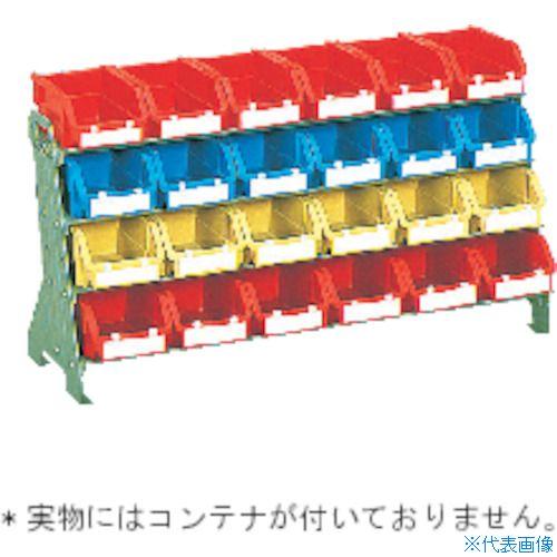 ■TRUSCO 卓上コンテナラック枠 H405 小棚X4  〔品番:UJ-604-S〕[TR-5079225]