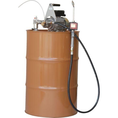 ■アクアシステム 流量計付電動ドラムポンプ (100V) オイル 油〔品番:EVVD-20K400〕[TR-5096201]【個人宅配送不可】