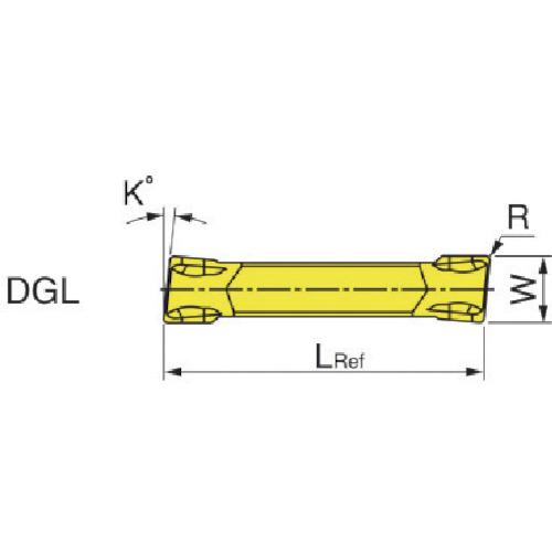 ■イスカル A DG突/チップCOAT IC908《10個入》〔品番:DGL〕[TR-5168538×10]