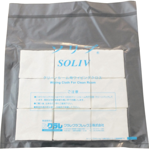 ■クラレ ソリブ 60mm×70mm (1Cs(箱)=1000枚入)〔品番:SOLIV-0607〕[TR-5186854]