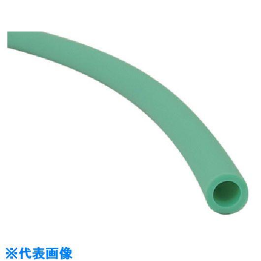 ■チヨダ TE-AF型スパッタチューブG(緑)12mm/100m〔品番:TE-12-AF-G-100〕[TR-5420296]【個人宅配送不可】