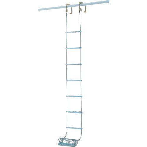 ■ピカ 避難用ワイヤーロープはしごER型 4.2M  〔品番:ER-43〕[TR-5425662]【大型・重量物・送料別途お見積り】