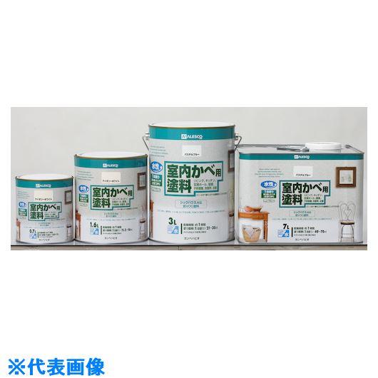 ■KANSAI 室内かべ用塗料 1.6L アイボリー 6缶入 〔品番:313-0261.6〕[TR-5428441×6]