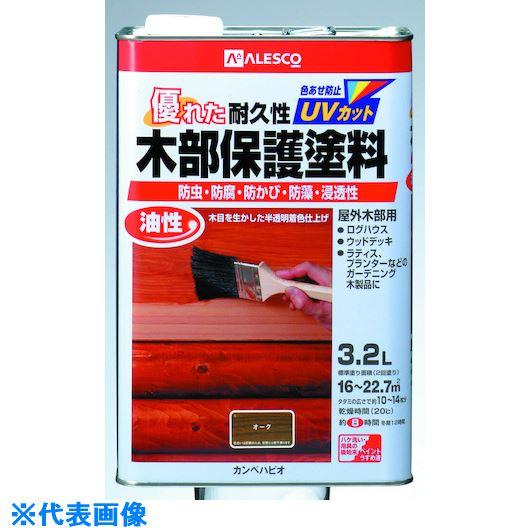 ■KANSAI 油性木部保護塗料 3.2L チーク《4缶入》〔品番:714-1033.2〕[TR-5429102]