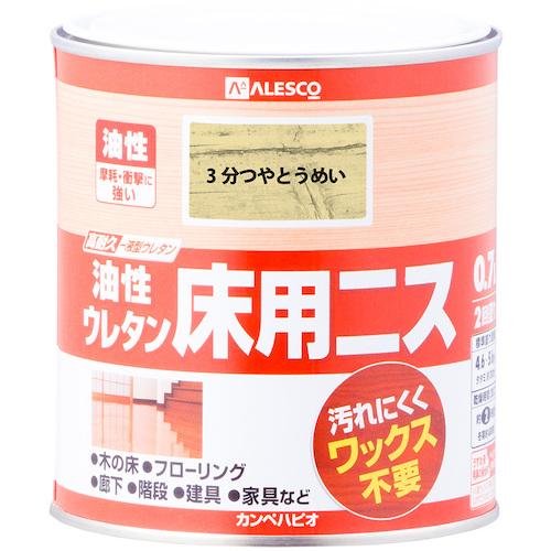 ■KANSAI 油性ウレタン床用ニス 0.7L 3分つやとうめい《6缶入》〔品番:777-110-0.7〕[TR-5429706]