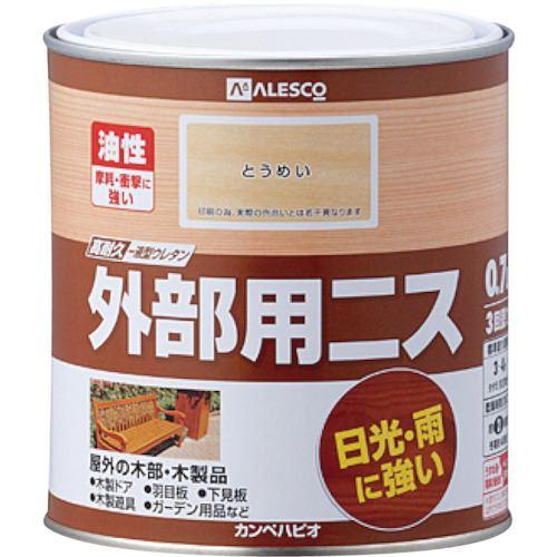■KANSAI 外部用ニス 0.7L とうめい《6缶入》〔品番:778-101-0.7〕[TR-5429731×6]