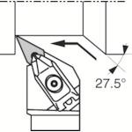 ■京セラ 外径加工用ホルダ  〔品番:DVPNL2525M-16〕[TR-5472385]