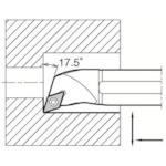 ■京セラ 内径加工用ホルダ  〔品番:S20R-SDQCR11-25A〕[TR-5515521]