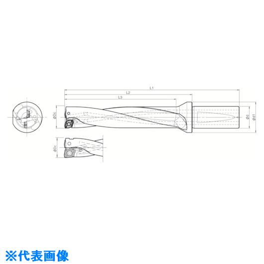 ■京セラ ドリル用ホルダ  〔品番:S40-DRX380M-5-11〕[TR-5518300]