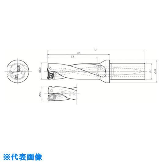 ■京セラ ドリル用ホルダ  〔品番:S40-DRX580M-3-17〕[TR-5518873]