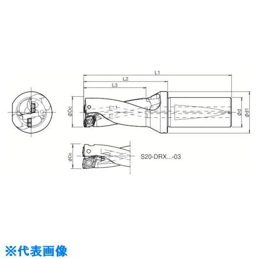 【予約】 〔品番:S40-DRX600M-2-17〕[TR-5518903]:ファーストFACTORY   ?京セラ ドリル用ホルダ-DIY・工具