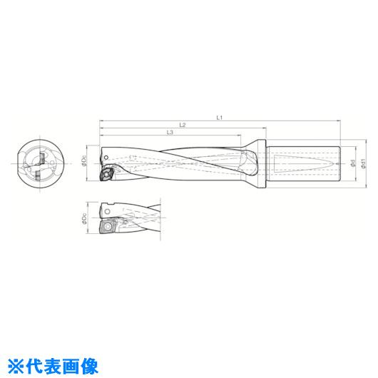 ■京セラ ドリル用ホルダ  〔品番:S50-DRX510M-4-17〕掲外取寄[TR-5520339]