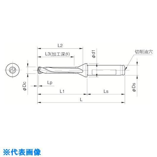 ■京セラ ドリル用ホルダ  〔品番:SF25-DRC250M-5〕[TR-5522943]