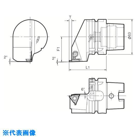 ■京セラ ツーリング機器〔品番:T63H-KGBAR-22-25〕[TR-5532060]