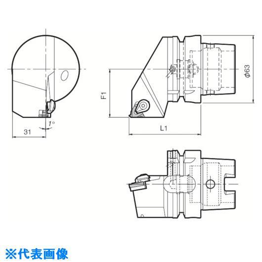 ■京セラ ツーリング機器〔品番:T63H-KTNR-22〕掲外取寄[TR-5532094]