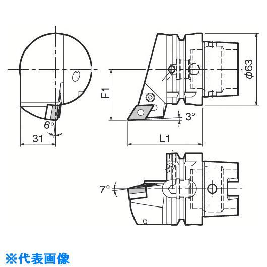 ■京セラ ツーリング機器  〔品番:T63H-PDJNR-DX15〕[TR-5532221][送料別途見積り][法人・事業所限定][掲外取寄]