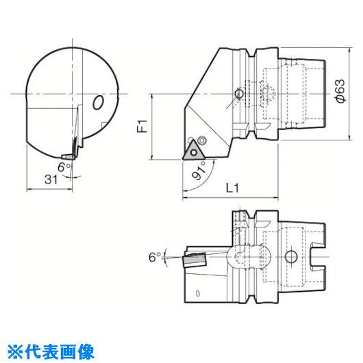■京セラ ツーリング機器  〔品番:T63H-PTGNR-DX16〕[TR-5532264][送料別途見積り][法人・事業所限定][掲外取寄]