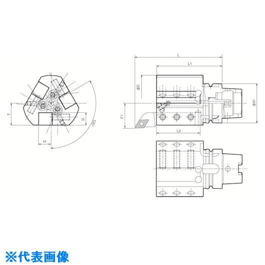 ■京セラ ツーリング機器〔品番:T63H-S2020R-105T〕[TR-5532299]
