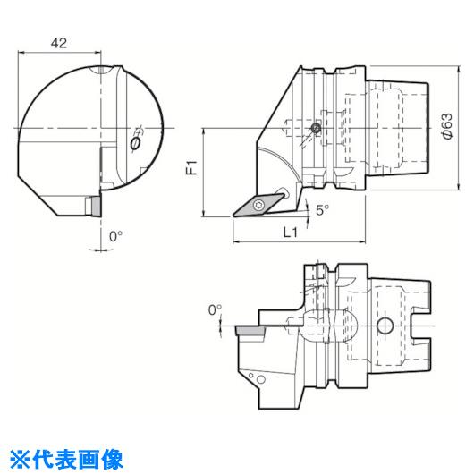 ■京セラ ツーリング機器  〔品番:T63H-SVLBL-DX16N〕[TR-5532345][送料別途見積り][法人・事業所限定][掲外取寄]