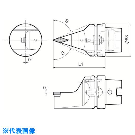 ■京セラ ツーリング機器  〔品番:T63H-SVVBN-L16N〕[TR-5532370][送料別途見積り][法人・事業所限定][掲外取寄]