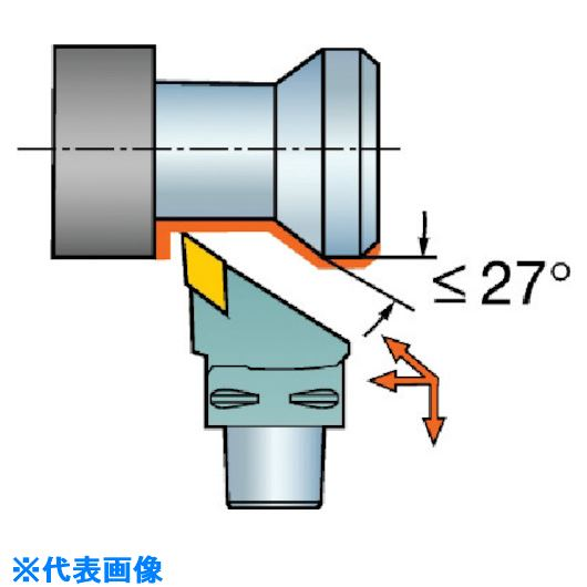 ■サンドビック コロマントキャプト T-MAX P用カッティングヘッド  〔品番:C5-PDJNR-35060-11〕[TR-5677611]