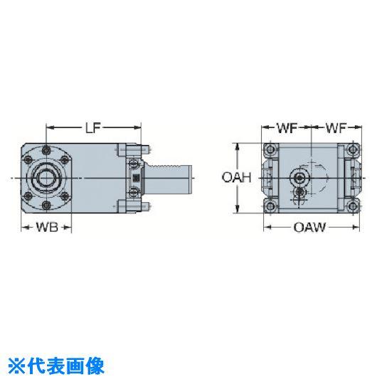 ■サンドビック キャプトクランピングユニット  〔品番:C5-TRI-GM40V-R〕取寄[TR-5679893]